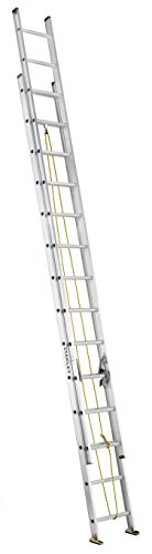 Stanley SXL2224-28 Aluminum Extension Ladder, 28-Foot, 225-Pound Load Capacity