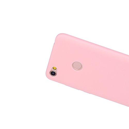 Funda Xiaomi Redmi Note 5A, Carcasa Xiaomi Redmi Note 5A Prime, CaseLover Suave TPU Silicona Carcasa para Redmi Note 5A Prime / Redmi Note 5A Ultra Delgado Flexible Mate Goma Gel Protectiva Caso Anti  Rosado