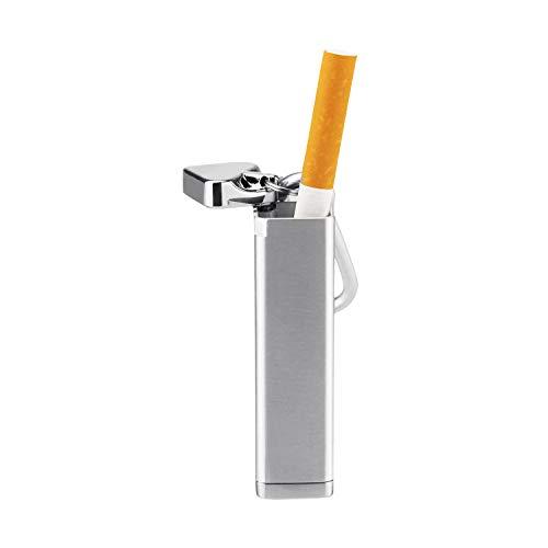 Mini Pocket Ashtray, Portable Aluminum Alloy Cigarette Ashtray Windproof Keychain Ashtray for Cars, Travelling, Outdoors