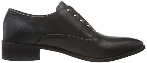 Black Lily Rida Shoes, Mocasines para Mujer Negro