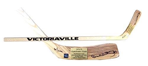 - Bobby Orr Signed Hockey Stick - Frameworth Victoriaville 1974 75 LE 144 - Autographed NHL Sticks