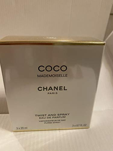 Chanel Coco Mademoiselle Twist & Spray Eau De Parfum Refill 3x20ml/0.7oz