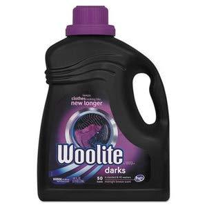 WOOLITE Extra Dark Care Laundry Detergent, 100 Oz Bottle, 4/Carton by WOOLITE