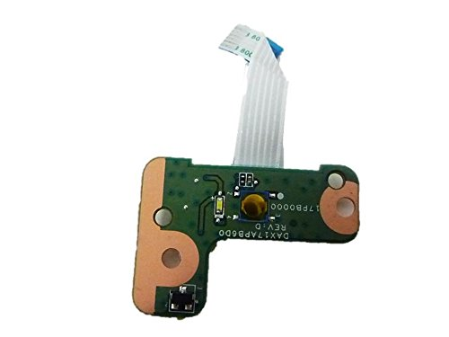 New Genuine HP Pavilion 17-G Power Button Board With Cable DAX17APB6D0 809310-001 by HP (Image #1)