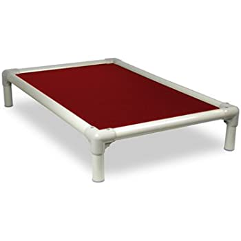 Amazon Com Kuranda Almond Pvc Chewproof Dog Bed Xl