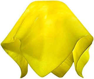 "product image for Jezebel Radiance Large Flame Canary Yellow Glass Pendant/Ceiling Fan Light Replacement Glass Shade, 1 5/8"" Hole"