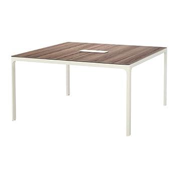 Amazon.com: Ikea Conference Table, Gray, White 2382.2208.166 ...