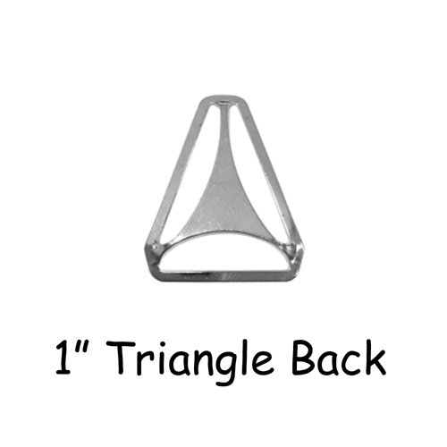Triangle Back Slide Adjusters - 1 - Qty 10