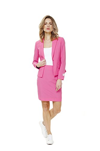 Opposuits Womens 'Ms. Pink' Party Suit by, (Thing One And Thing Two Sexy Costumes)