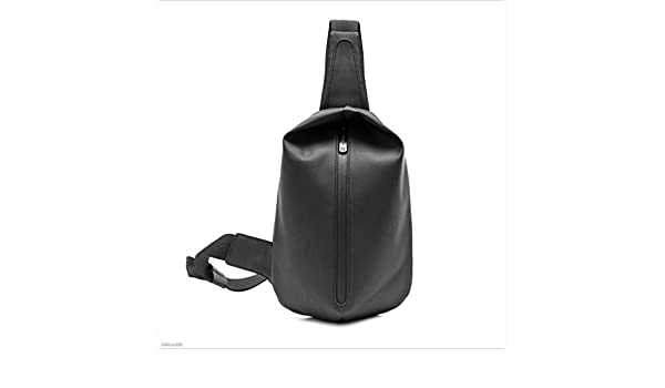 DABUOT Mens Shoulder Waterproof Casual Messenger Bag Outdoor Shoulder Strap Chest Bag,Black