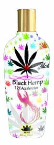 Most Products BLACK HEMP 12X Accelerator Tanning Lotion