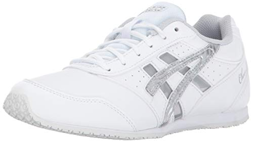 - Asics K10 Cheer 8 GS Youth Shoes, White