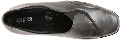 Ara Kvinna Reegan Slip-on Loafer Bly Metalliskt