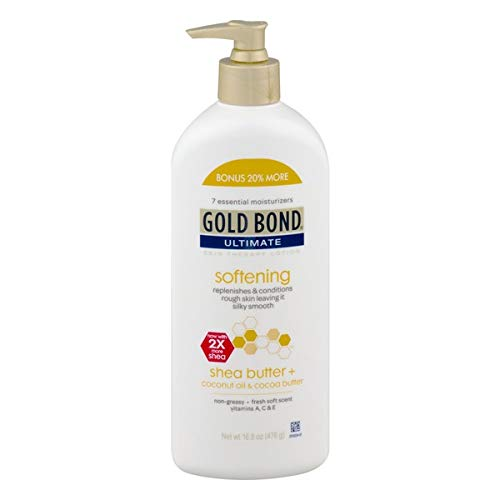Gold Bond Ultimate Softening Skin Therapy Lotion with Shea Butter - 16.8 oz ()