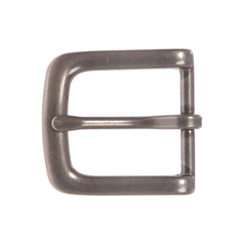 "1 1/8"" Replacement Single Prong Horseshoe Belt Buckle, Antique Silver from beltiscool"