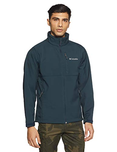 Columbia Men's Ascender Softshell Jacket, Night Shadow, M