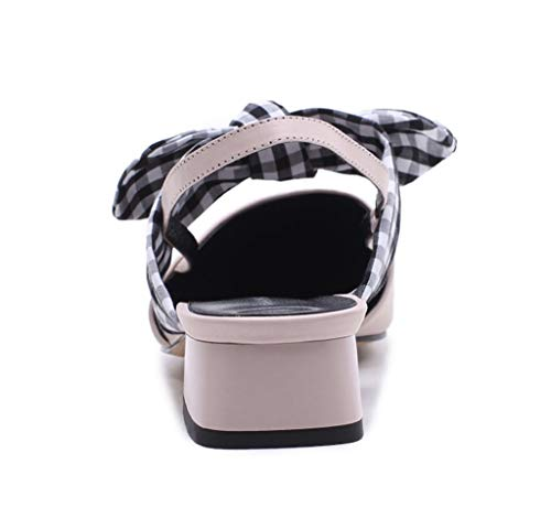 Colori Estivi store Shoe Scarpe incantati Colore Sandali 1 37 Bowknot Tacco con Basso con Dimensioni zU4dxYU