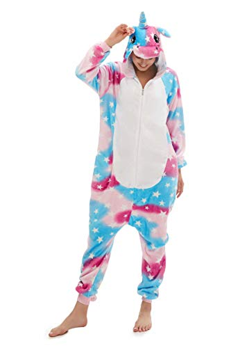 Animal Onesie Unicorn Costume Cosplay Pegasus Pajamas