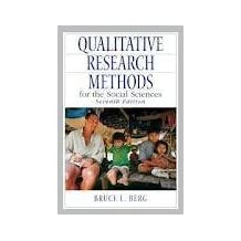 Qualitative Research Methods for the Social Sciences 7th (seventh) edition