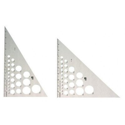 Alum Triangle - Triangle Alum 30/60-10 Inch by Fairgate