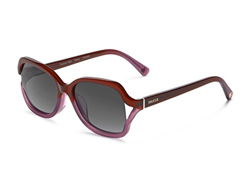 toucca kids: Butterfly Polarized Sunglasses for Trendy Hipster Children, Toddlers & Girls, Ages 2-6 | Comfortable Frame, Spring Hinge for Durability (Shatter & Scratch-Resistant Lens), Violet Gradient