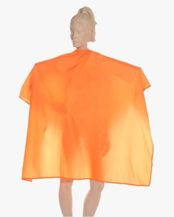 Salon Hair Cutting Salon Cape Orange by Salonwear
