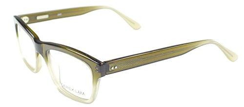 Gradient Olive (Derek Lam DL 240 53mm Olive Gradient Plastic Eyeglasses)