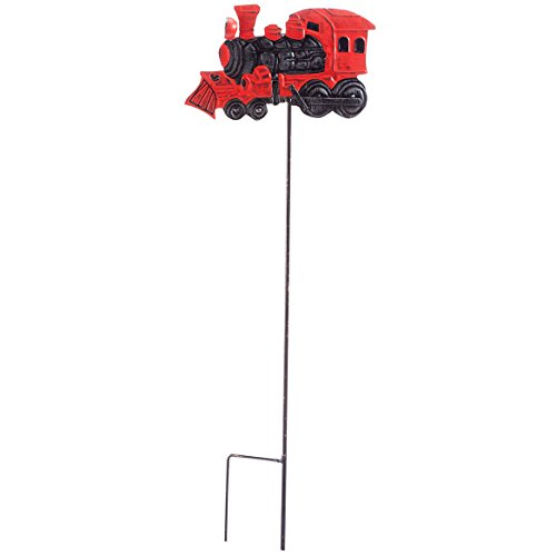 (Train Solar Stake by Fox River CreationsTM)