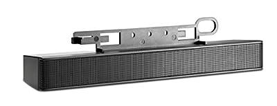 HP LCD Speaker Bar (black) from hp