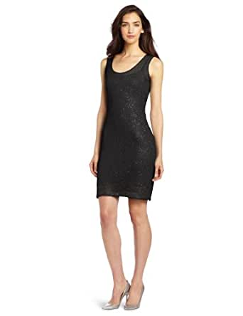 Evolution by Cyrus Women's Sequins Dress, Black, Small