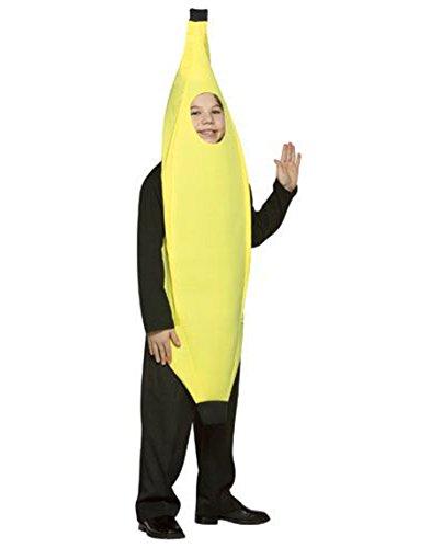 Rasta Imposta Lightweight Banana Children's Costume, 7-10, Yellow -