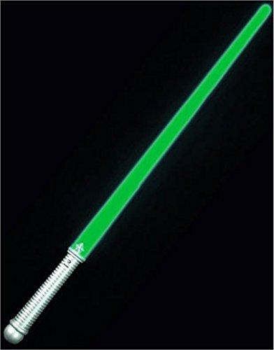 Green LED Lightsaber Glowing Toy Costume Light Saber (Yoda Kids Costume)