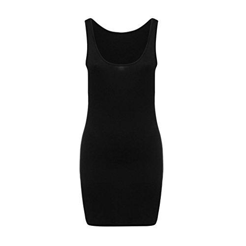 Donna Lunghe Con Abito Aderente Beikoard Abbigliamento Maniche Nero Vestito Mini B Attillato Sexy Per Elegante Paq5wU