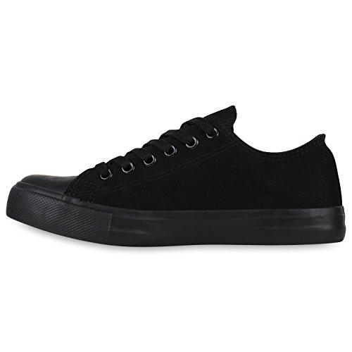 Stiefelparadies - Zapatillas de casa Mujer Schwarz All