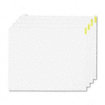 Crown Walk-N-Clean Mat 60-Sheet Refill Pad 30w x 24h 4/Carton White WCRPLPDW --W#436BRE T44/35PDS434075