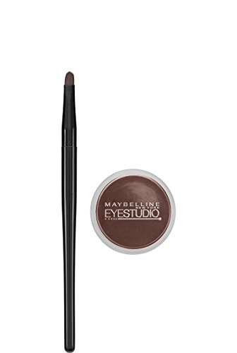 - Maybelline New York Eye Studio Lasting Drama Gel Eyeliner, Waterproof, Brown 952, 0.106 oz