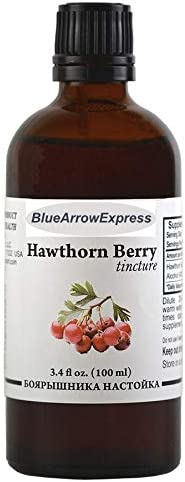 BlueArrowExpress Hawthorn Tincture – The Best Natural Heart Remedy 100 ml