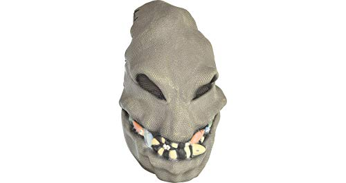 Nightmare Before Christmas Oogie Boogie Mask Halloween Accessory for Teens and Adults, One Size, by Party City