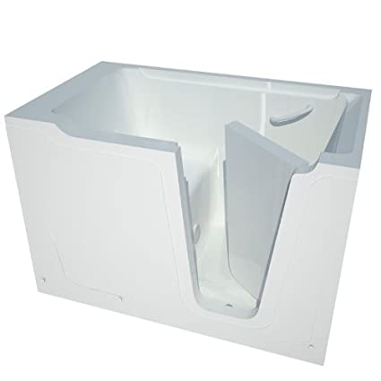 Meditub MT3660RWS Bariatric 36 By 60 By 40 Inch Walk In Soaker Bathtub Spa  Right Side Door, White   Soaking Tubs   Amazon.com