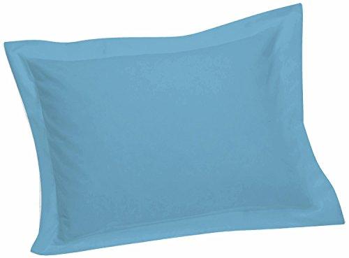 light blue pillow shams - 1