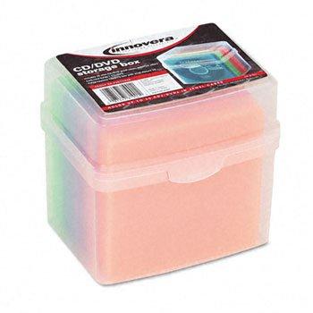 IVR81901 - Innovera CD/DVD Slim Storage Box