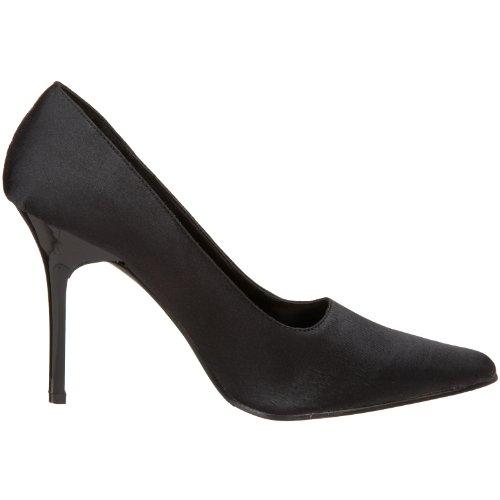 Women's Heel The Classic Pump Highest Black Satin vpEq8PR
