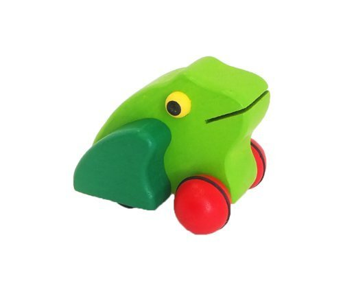 Pintoi pullback of the mainspring toy frog tree Happy