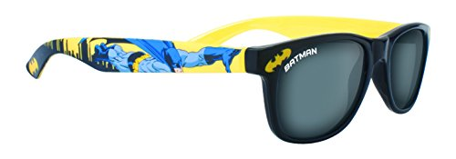 Batman Lunettes de soleil en plastique noir pour enfants