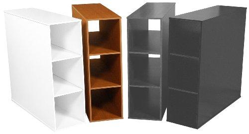 Venture Horizon 1145-33OA Oak Project Center 3 Bin Cabinet