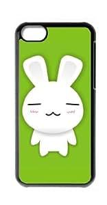 HeartCase Hard Case for Apple iPhone 5C ( Bunny rabbit )