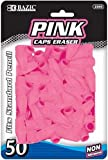 DDI - BAZIC Pink Eraser Top (50/Pack) (1 pack of 72 items)