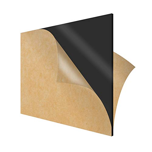 SimbaLux Acrylic Sheet Black Opaque Cast Plexiglass 12