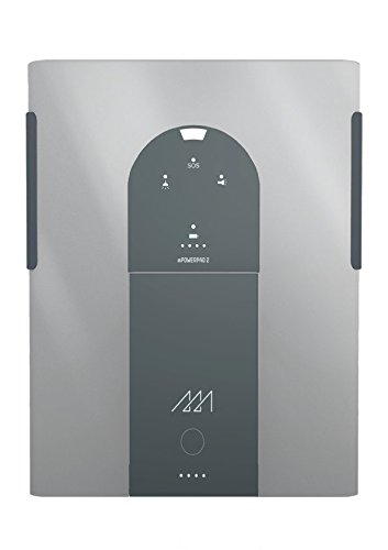 mPowerpad 2 Lite solar charger - Metallic Silver by Third Wave Power