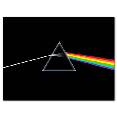 Pink Stickers Floyd Bumper - Pink Floyd Dark Side of the Moon Vynil Car Sticker Decal - Select Size